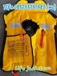 WA 0857 3373 1380 Pemasok Life Vest Inflatable Manual Semalapura