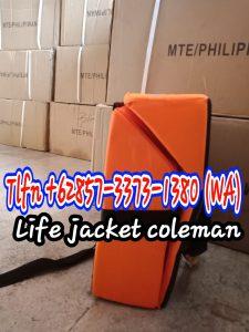 WA 0857-3373-1380 Distributor Life Jacket Type 2 Coleman