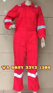 Quality Wearpack Coverall Bahan Drill | WA 085733731380